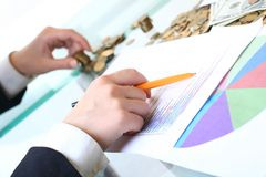 Análise do mercado Imagem de Stock Royalty Free