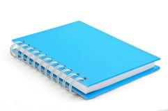 anmärkning för blå bok Arkivbilder