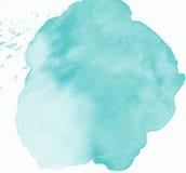 Anmärkning för vattenfärgrammellanrum Royaltyfria Bilder