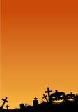 anmärkningar för bakgrundsslagträhalloween månsken Royaltyfri Fotografi