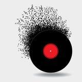 Anmärkningsrykte runt om denna musikbakgrund Arkivbild