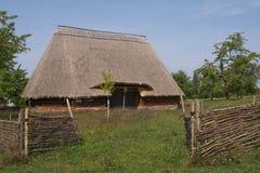 Anmärkningsvärd ladugård, öppet museum för luft i Kourim, Tjeckien Royaltyfri Fotografi
