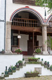 Anmeldungszellen-Rila-Kloster in Bulgarien Lizenzfreie Stockfotos