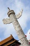 anmen dekorativa den tian pelarfyrkanten Royaltyfria Foton