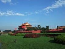 anmen den tian beijing porten Fotografering för Bildbyråer