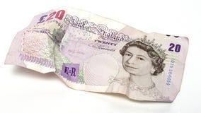 Anmerkung £20 Stockfoto