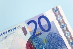 Anmerkung des Euro Zwanzig Lizenzfreie Stockfotografie