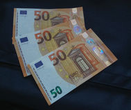 Anmerkung des Euros 50, Europäische Gemeinschaft Lizenzfreie Stockfotos