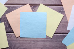 Anmerkung, Notiz, Memorandum stockbild