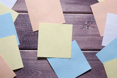 Anmerkung, Notiz, Memorandum lizenzfreies stockfoto