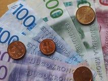 Anmerkungen der Schwedischen Krone, Schweden Lizenzfreie Stockfotos