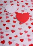 Anmerkungen für Ihren Valentinsgruß Lizenzfreies Stockfoto