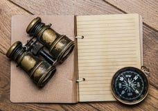 Anmerkungen für Marineabenteurer Lizenzfreie Stockbilder
