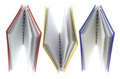 Anmerkungs-Bücher Lizenzfreies Stockbild