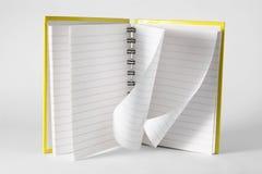 Anmerkungs-Buch Lizenzfreies Stockbild