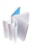 Anmerkungs-Buch Stockfotos