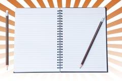 Anmerkungs-Buch-Papier Stockfotos