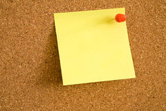 Anmerkungs-Papier Lizenzfreies Stockfoto