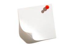 Anmerkungs-Papier stockfoto