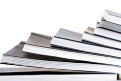 Anmerkungsbücher im Stapel - Nahaufnahme Lizenzfreie Stockfotos
