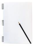 Anmerkungsbuch Stockbild