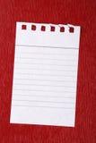 Anmerkungspapier Stockbilder