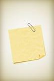 Anmerkungspapier Lizenzfreies Stockbild