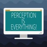 Anmerkungsvertretung Vorstellung zu schreiben ist alles Das Geschäftsfoto, das zur Schau stellt, wie wir Ausfall oder Niederlage  stock abbildung