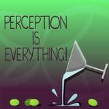 Anmerkungsvertretung Vorstellung zu schreiben ist alles Das Geschäftsfoto, das zur Schau stellt, wie wir Ausfall oder Niederlage  vektor abbildung