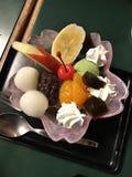 Anmitsu или десерт японского стиля стоковая фотография