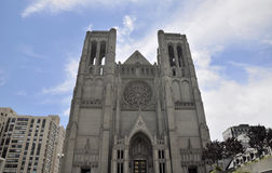 Anmut-Kathedrale San Francisco Lizenzfreie Stockbilder