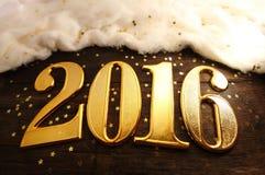 Année 2016 Photo stock