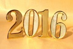 Année 2016 Photographie stock libre de droits