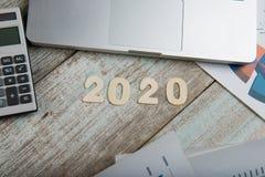 Année 2020 Images stock