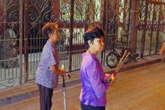 Année chinoise de la Malaisie Penang Georgetown nouvelle Image libre de droits