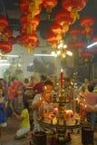 Année chinoise de la Malaisie Penang Georgetown nouvelle Photos stock