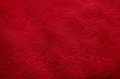 Année chinoise et Saint Valentin de tissu de fond rouge de tapis nouvelle Photographie stock