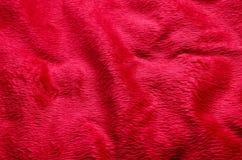 Année chinoise et Saint Valentin de tissu de fond rouge de tapis nouvelle Image libre de droits