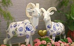 Année de la chèvre Images libres de droits
