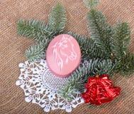 Année de savon de Noël de cheval, Images libres de droits