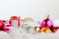 ANNÉE Joyeux Noel Image libre de droits