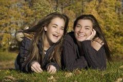 Années de l'adolescence Photographie stock libre de droits