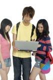 années de l'adolescence asiatiques Image stock