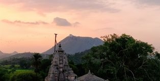 507 années de temple Photos libres de droits