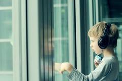 6 années mignonnes de garçon Images libres de droits