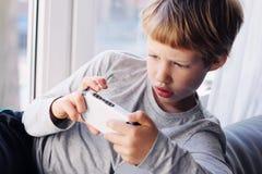 6 années mignonnes de garçon Photo libre de droits
