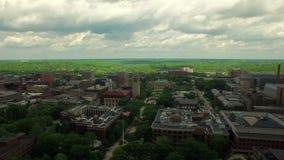 Ann Arbor Aerial stock video