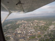 Ann arbor from the sky Royalty Free Stock Photos