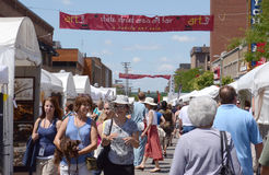 Ann Arbor State Street Area Art Fair Royalty Free Stock Image