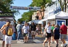 Ann Arbor Summer Art Fair 2011 Stock Images